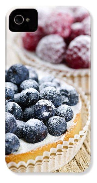 Fruit Tarts IPhone 4s Case by Elena Elisseeva