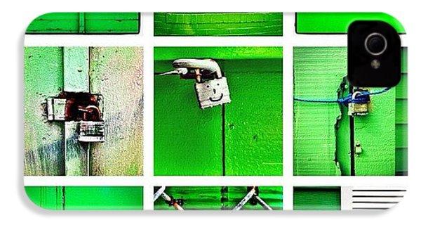 Green IPhone 4s Case by Julie Gebhardt