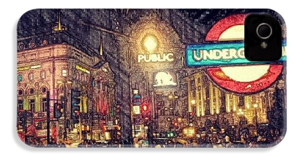 How London Looks Like At Night? May IPhone 4s Case by Abdelrahman Alawwad