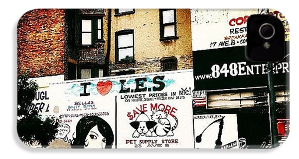 I Love The Lower East Side - New York City IPhone 4s Case