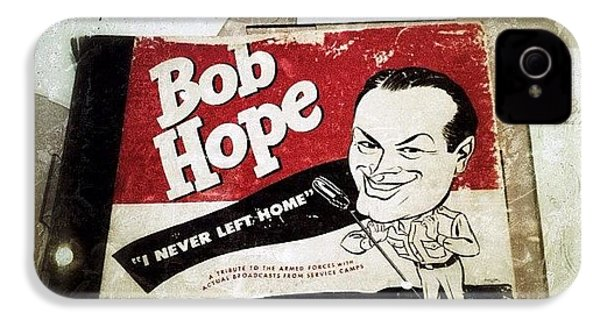 i Never Left Home By Bob Hope: His IPhone 4s Case by Natasha Marco