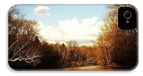 #lake #creek #nature #ohio IPhone 4s Case by  Abril Andrade Griffith