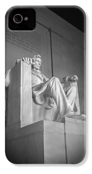 Lincoln Memorial  IPhone 4s Case by Mike McGlothlen
