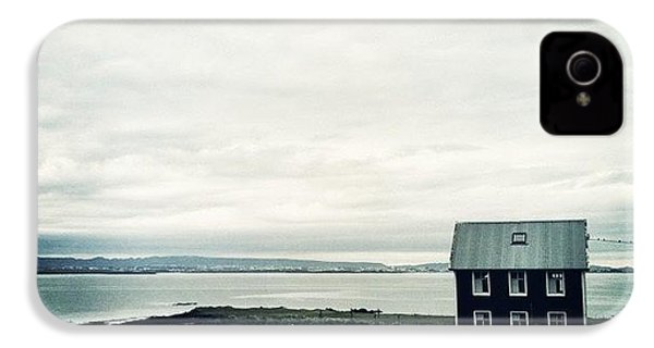 Little Black House By The Sea IPhone 4s Case