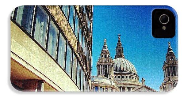 London - #greatbritain #london #uk IPhone 4s Case by Abdelrahman Alawwad