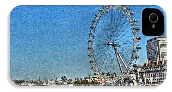 London Eye, #london #londoneye IPhone 4s Case by Abdelrahman Alawwad