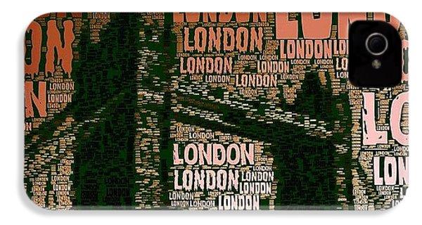 #london Just London IPhone 4s Case by Ozan Goren