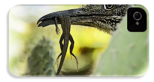 Lunch With A Roadrunner  IPhone 4s Case by Saija  Lehtonen