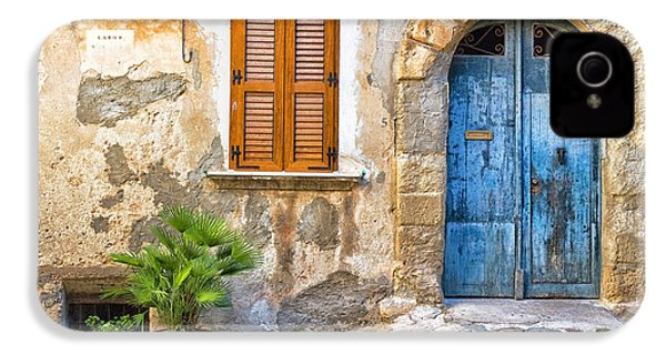 Mediterranean Door Window And Vase IPhone 4s Case