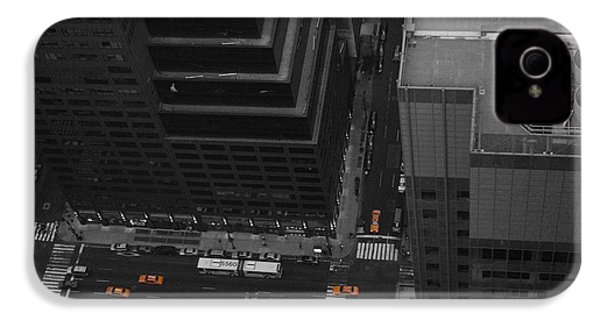 Nyc From The Top 1 IPhone 4s Case by Naxart Studio