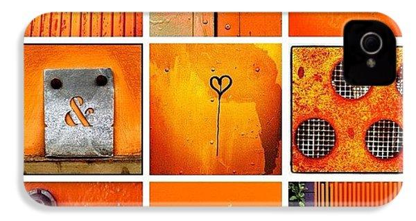 Orange  IPhone 4s Case