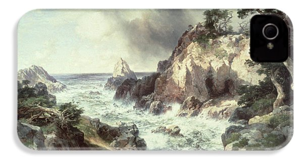 Point Lobos At Monterey In California IPhone 4s Case by Thomas Moran