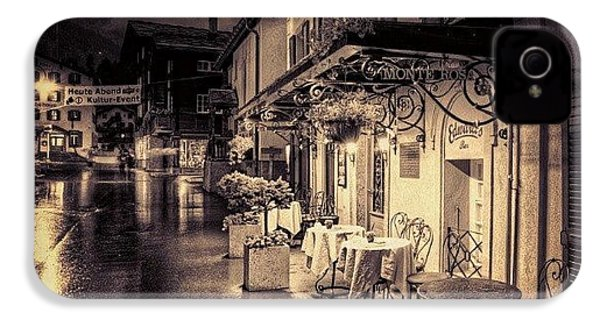 #rainy #cafe #classic #old #classy #ig IPhone 4s Case