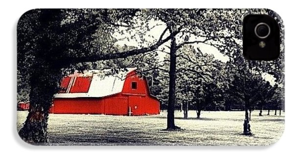 Red Barn IPhone 4s Case