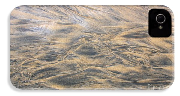 Sand Patterns IPhone 4s Case by Nareeta Martin