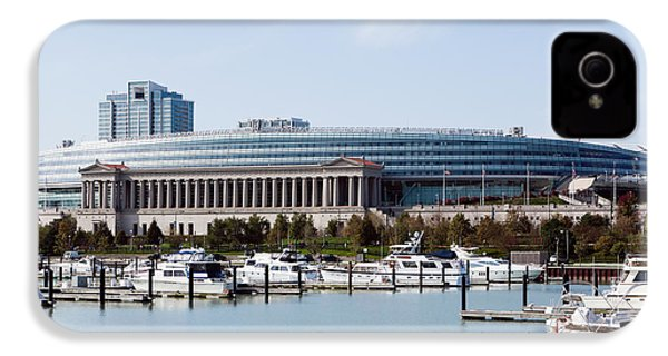 Soldier Field Chicago IPhone 4s Case by Paul Velgos