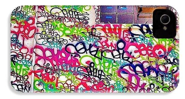 Street Art IPhone 4s Case by Julie Gebhardt