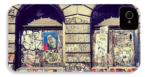 Street Art On The Bowery - New York City IPhone 4s Case by Vivienne Gucwa