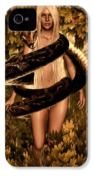 Temptation And Fall IPhone 4s Case by Lourry Legarde