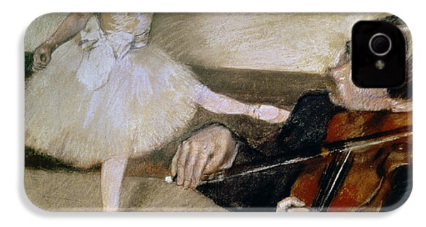 The Dance Lesson IPhone 4s Case by Edgar Degas