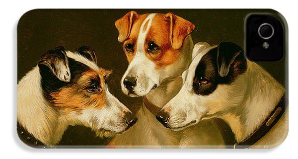 The Hounds IPhone 4s Case by Alfred Wheeler