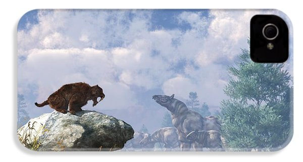 The Paraceratherium Migration IPhone 4s Case by Daniel Eskridge