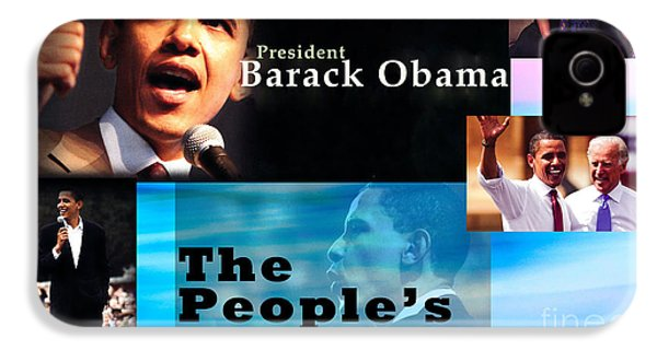 The People's President IPhone 4s Case by Terry Wallace