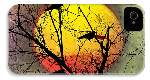 Three Blackbirds IPhone 4s Case by Bill Cannon