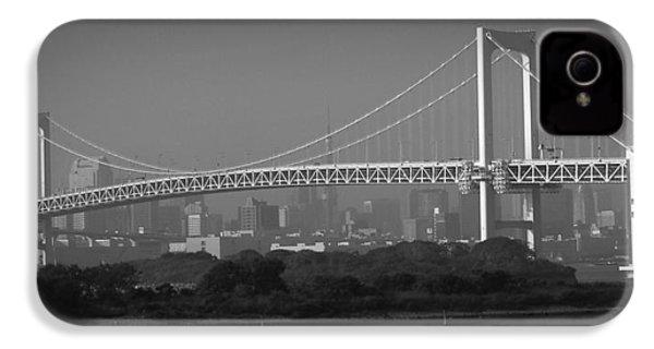 Tokyo Rainbow Bridge IPhone 4s Case by Naxart Studio