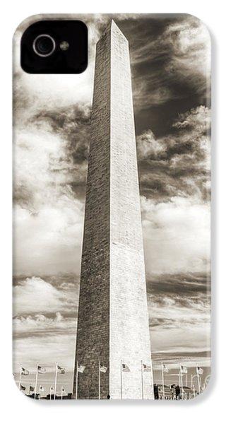 Washington Monument IPhone 4s Case by Dustin K Ryan