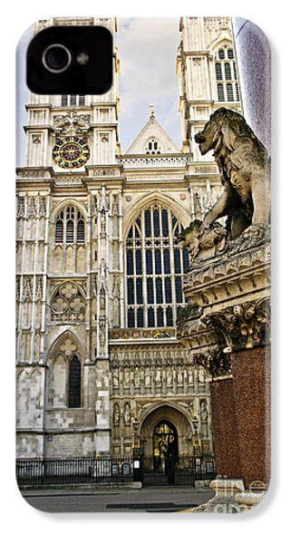 Westminster Abbey IPhone 4s Case by Elena Elisseeva