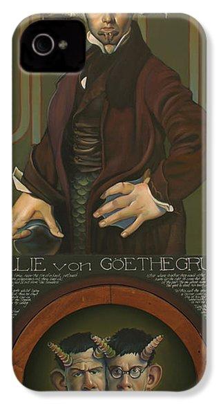 Willie Von Goethegrupf IPhone 4s Case