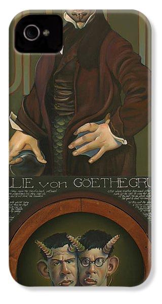 Willie Von Goethegrupf IPhone 4s Case by Patrick Anthony Pierson