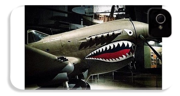 Ww2 Curtiss P-40e Warhawk IPhone 4s Case by Natasha Marco