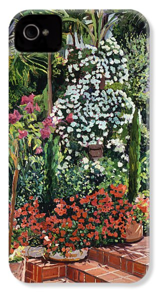 A Garden Approach IPhone 4s Case by David Lloyd Glover