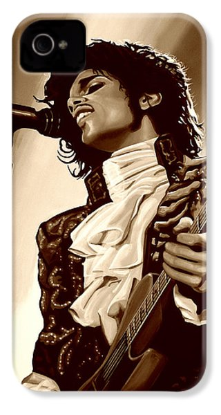 Prince The Artist IPhone 4s Case by Paul Meijering