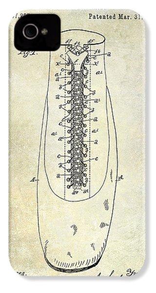 1896 Shoe Patent  IPhone 4s Case