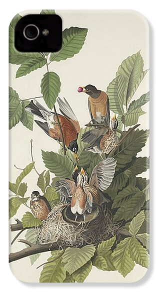 American Robin IPhone 4s Case by Rob Dreyer