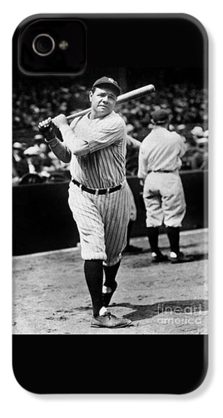 Babe Ruth IPhone 4s Case