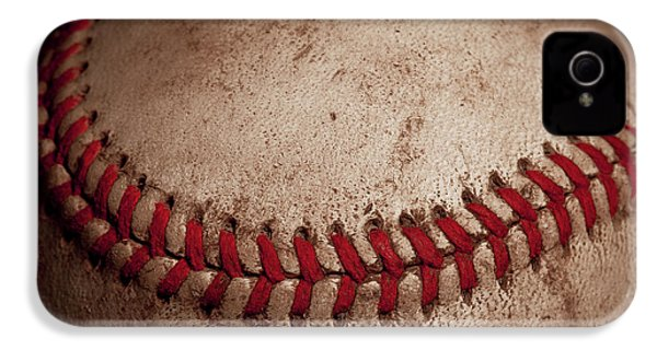 IPhone 4s Case featuring the photograph Baseball Seams by David Patterson