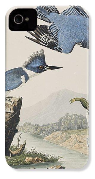Belted Kingfisher IPhone 4s Case by John James Audubon
