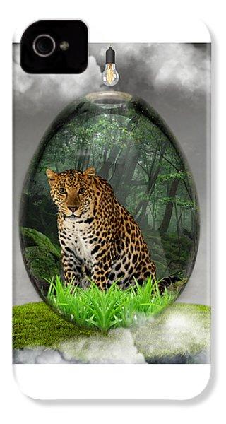 Big Cat Leopard Art IPhone 4s Case