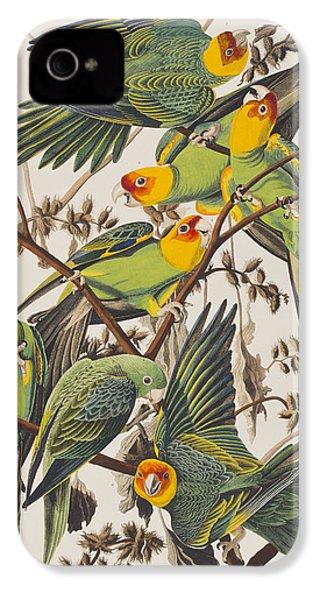 Carolina Parrot IPhone 4s Case by John James Audubon