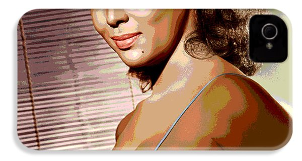 Dorothy Jean Dandridge IPhone 4s Case by Charles Shoup