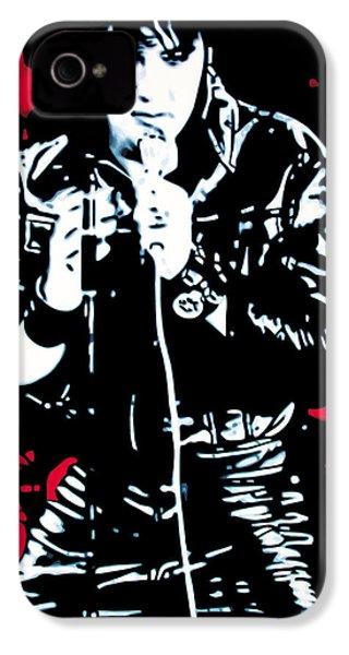 Elvis IPhone 4s Case by Luis Ludzska