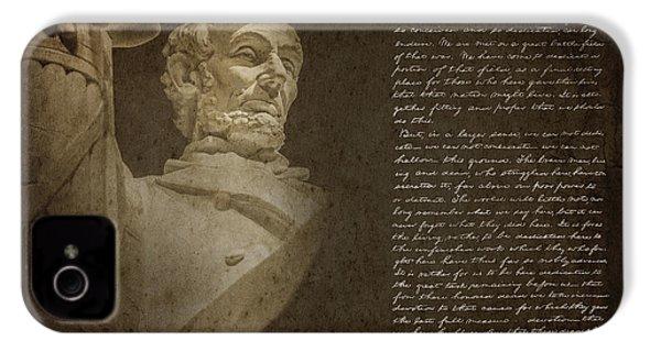 Gettysburg Address IPhone 4s Case