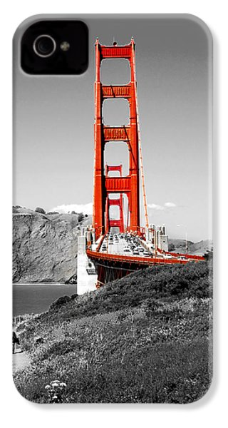 Golden Gate IPhone 4s Case by Greg Fortier