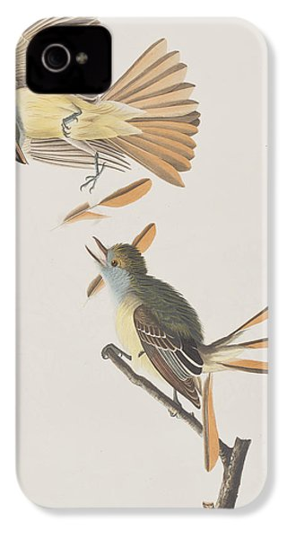 Great Crested Flycatcher IPhone 4s Case