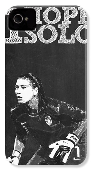 Hope Solo IPhone 4s Case