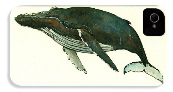 Humpback Whale  IPhone 4s Case